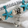Boho Beads Decorated Bracelet - Anchors