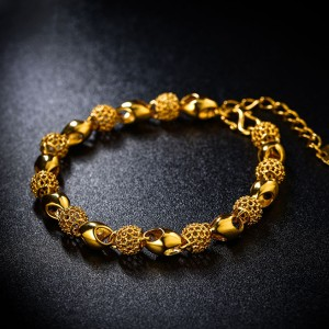 Gold Plated Boho Chain Bracelet