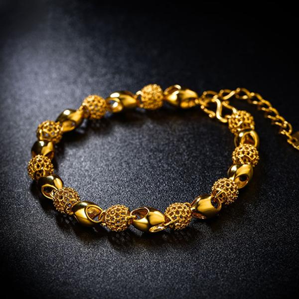 Gold Plated Boho Chain Bracelet