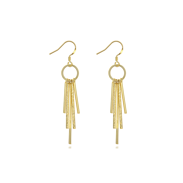 High Trend New Fashion Gold Plated Women Tassel Earring