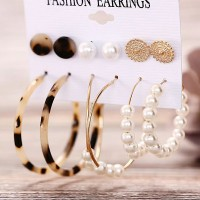 Women Modest Fashion Formal Earrings Pair Set