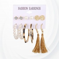 Tassel Spherical Elegant Ear Jewellery Set