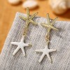Duo Star Fish Party Vintage Special Earrings Pair