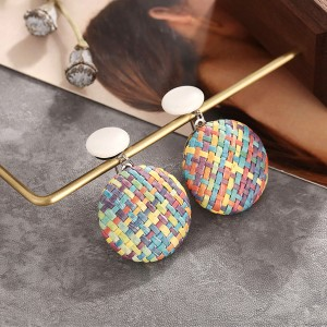 Thread Art Casual Button Tops - Multicolor