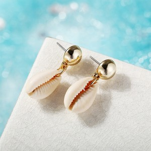 Shell Shaped Special Summer Beach Wear Ear Tops