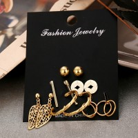Party Wear Exclusive Gold Plated Ear Jewellery Sets