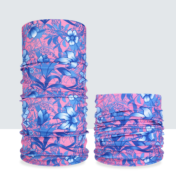 Multifunction Stretchable Head And Hand Bands - Floral