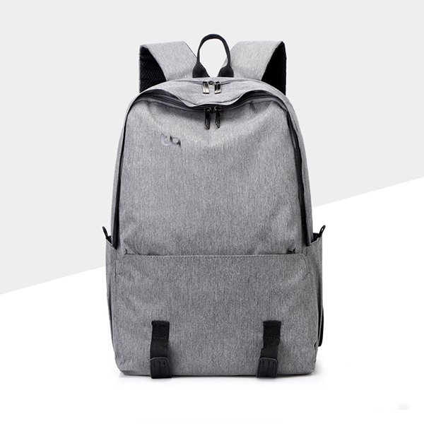 Zipper Traveller Students Smart Backpacks - Grey