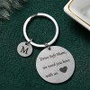 Gifts For Mothers Alphabetic Name Keychain - M