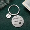 Gifts For Mothers Alphabetic Name Keychain - T