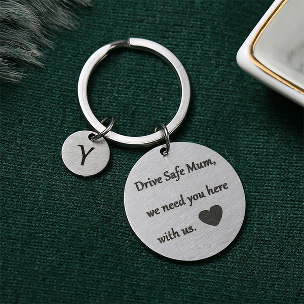 Gifts For Mothers Alphabetic Name Keychain - Y