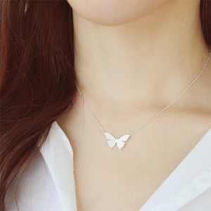 Butterfly Fancy Women Jewellery Neck Pendant