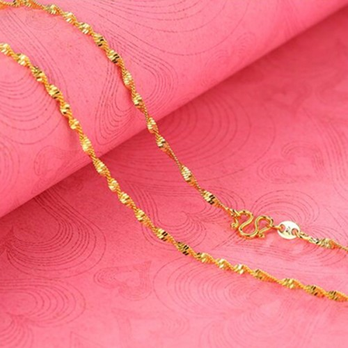Casual Party Wear Neck Chain For Women - Golden