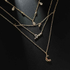 Crystal Decorative Casual Chain Necklace
