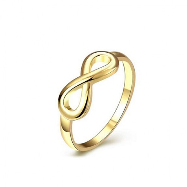 European And American Fashion Geometry Women Gold Ring