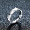 Angel Ring Series Titanium Steel Couple Ring Women Jewelry