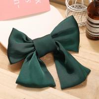 Bow Shaped Elastic Head Wear Fashion Women Bands - Green