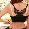 Lace Back Butterfly Summer Vest - Black