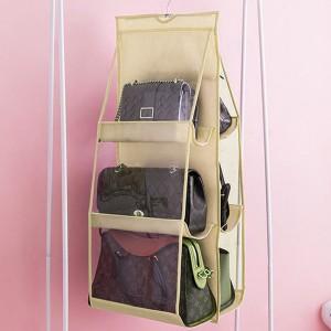 Three Storey Multi Storage Hanging Rack - Beige