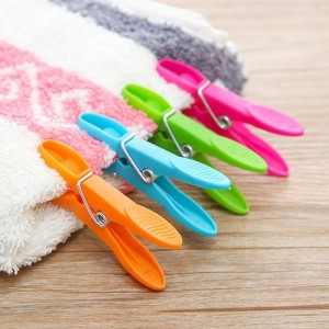 24 Pieces Laundry Clips Set
