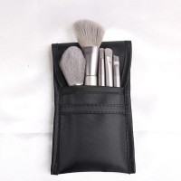 Thick Wooden Handheld Five Piece Brushes - Grey