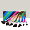 Seven Pieces Mermaid Style Beautiful Makeup Brushes