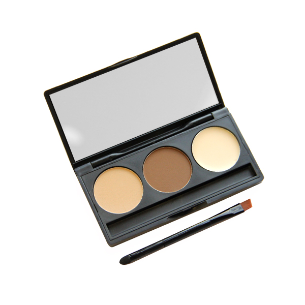 Three Shades Eyebrow Powder Box For Women