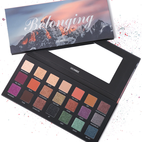 Multicolor High Quality Water Resistant Eye Shadow Palette