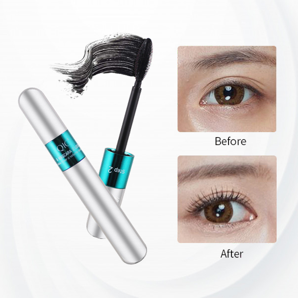 2 in 1 High Quality Water Resistant Eye Mascara