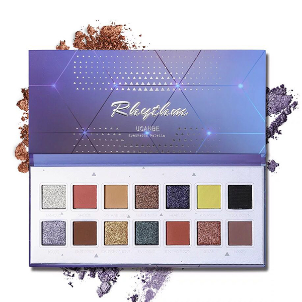 14 Shades Multicolor Women Eye Shadow Palette
