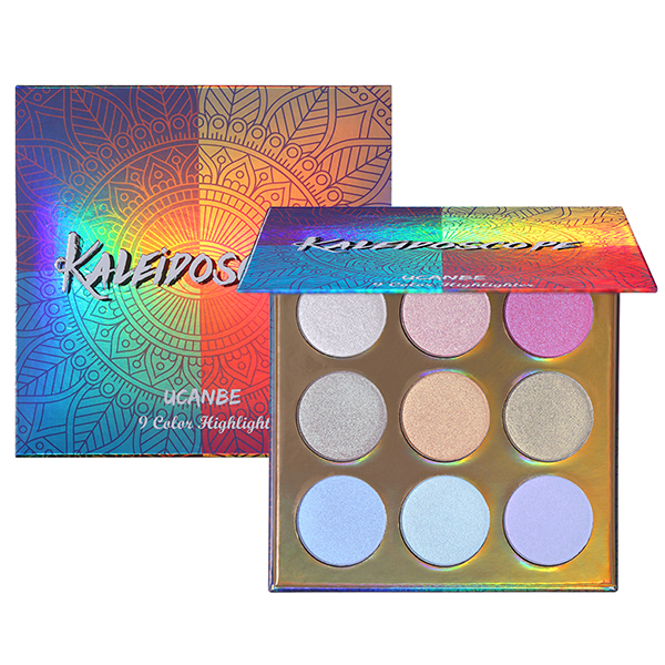 9 Shades Multi Color Eye Shadow Palette
