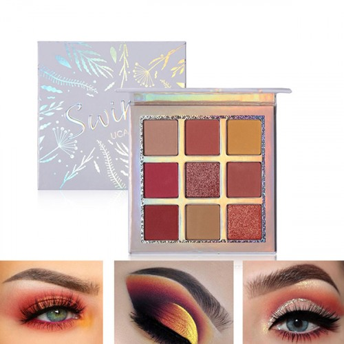 9 Shades Multicolor Women Makeup Collection
