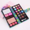 Cute  Foldable Pouch Makeup Palette Box - Green