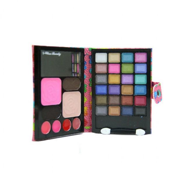 32 Color Eye Shadow Makeup Tool Kit Set With Lip Gloss