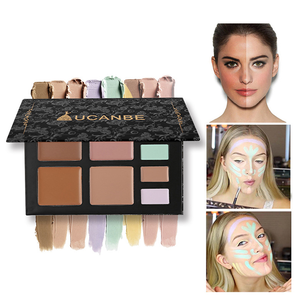 Multicolor Makeup Tool Eye Shadow Box - Light Colors