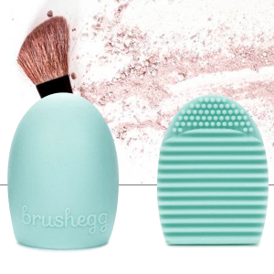 Green Silicone Brush Cleaner Scrubber Makeup Tool