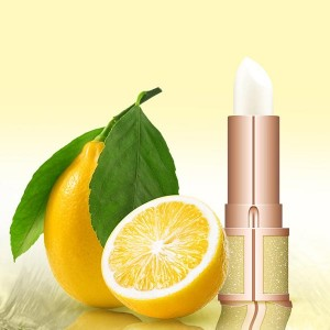 Flavored Moisturizing Anti-crack Lip Balm - Yellow
