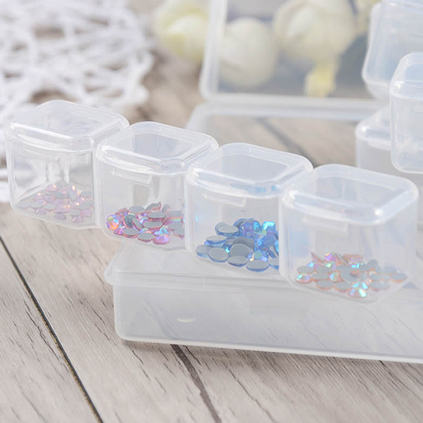 Storage Boxes Set For Nail And Decoration Stones