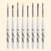 Eight Pieces Nail Art Brushes Tool Kit