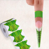 100 PCs Nail Extension Sticker Tape - Green