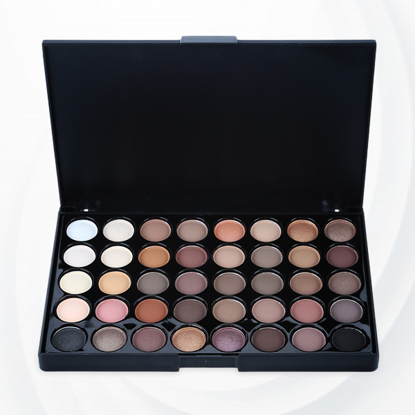 40 Shades Multicolor Eye Shadow Palette - One