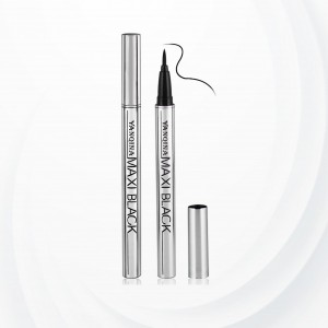 Durable Sweat Resistant Eye Liner Pen - Black