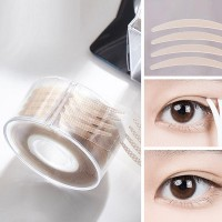 Double Eyelid Invisible Natural Fiber Strip Tape Stickers