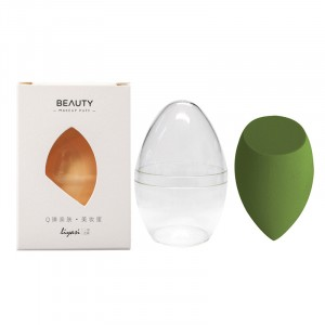 Easy Absorbent Makeup Essential Tools Sponge - Green