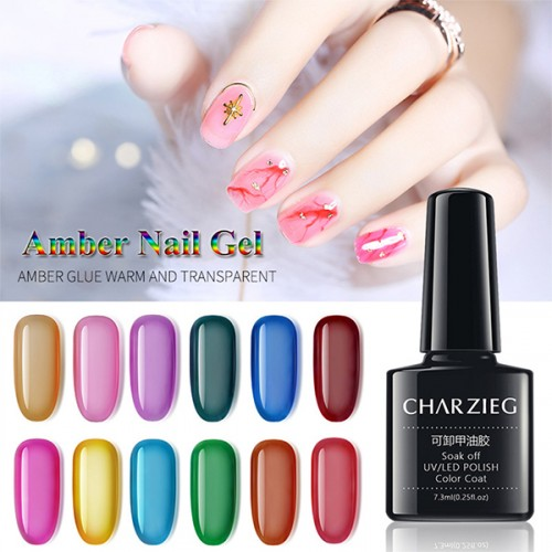 Beautiful Nail UV LED Nail Polish Color Coat - Pink