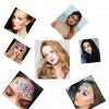 Face Rhinestone Temporary Tattoo Face Decoration - Code 44