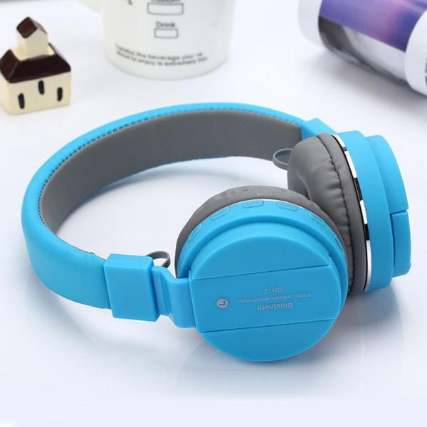 Sports Wireless Ear Comfort Bluetooth Headphones - Blue