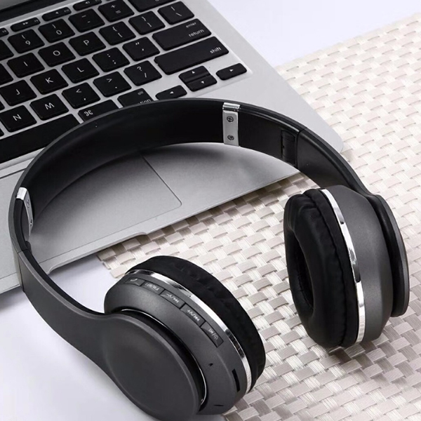 Wireless HiFi Stereo Bluetooth Headphones - Black