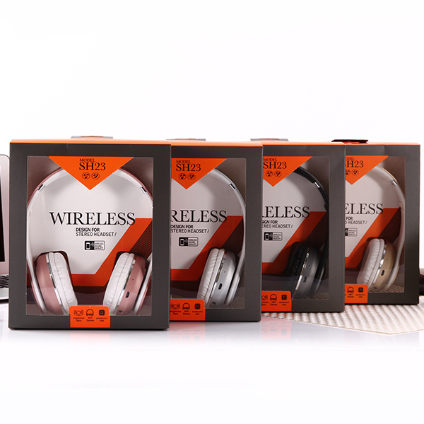 Wireless HiFi Stereo Bluetooth Headphones - Golden