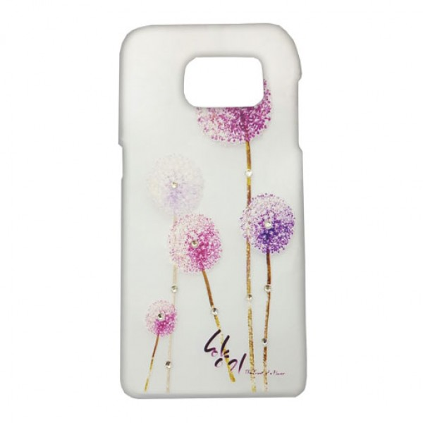 Clear Art Printed Design Back Cover Case For Samsung Galaxy S7
